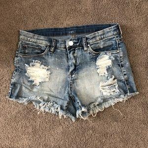 Blank NYC jean shorts size 28